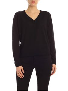 Semicouture - Gertrude pullover in black