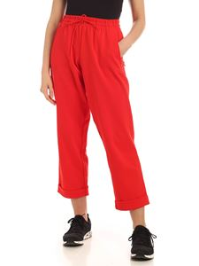 Y-3 Yohji Yamamoto - Classic Turn Up pants in red