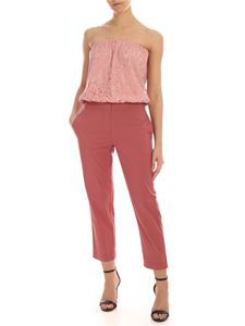 Semicouture - Nymphie jumpsuit in pink