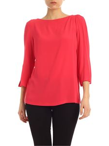 Semicouture - Alexandra blouse in Magenta red