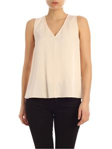 Calvin Klein - Top in light pink with side buttons