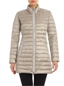 ADD - Quilted down jacket in grey