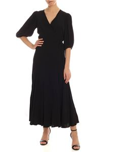 Calvin Klein - Wrap dress in black