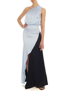 Semicouture - Coralis dress in light blue and blue