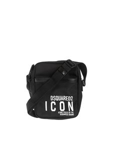 Dsquared2 - Shoulder bag in black technical fabric