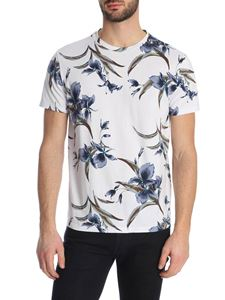 Etro - Floral print T-shirt in white
