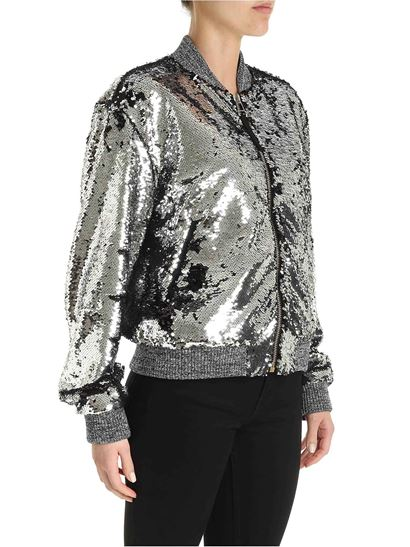 Golden Goose - Sierra jacket in silver color