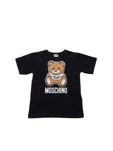 Moschino Kids - Teddy Bear T-shirt in black