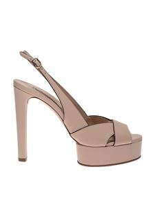 Casadei - Linda sandals in powder pink