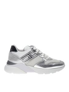 Hogan - Active One sneakers in white and silver