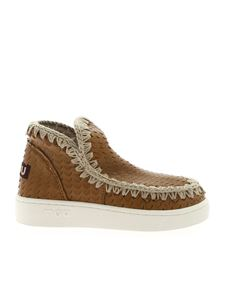 Mou - Summer Eskimo sneakers in brown leather
