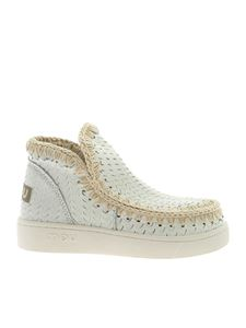 Mou - Summer Eskimo sneakers in white leather
