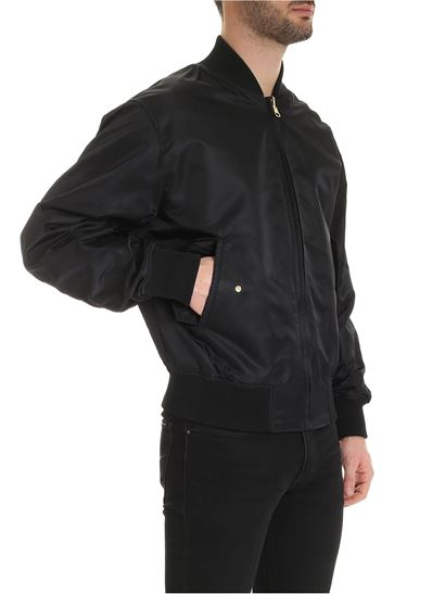 Versace Jeans Couture - Reversible bomber in black
