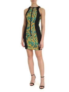 Versace Jeans Couture - Leo Chain black short dress with zip