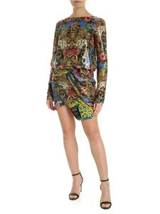 Versace Jeans Couture - Tropical Baroque sequin print dress