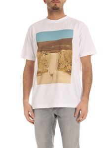 Marcelo Burlon County Of Milan - Ostrich t-shirt in white