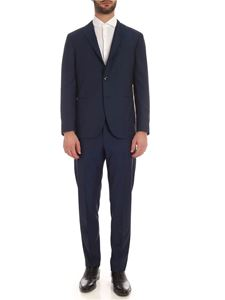 Boglioli - Single-breasted cool wool suit in blue
