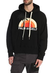 Palm Angels - Sunset hoodie in black