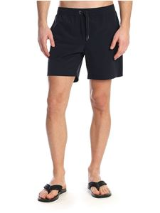 Moncler - Swim trunks in blue nylon