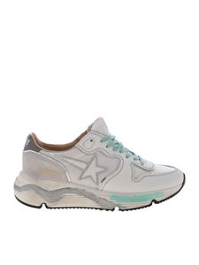 Golden Goose - Sneakers Running Sole bianche