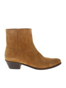 Golden Goose - Younger ankle boots in mustard color