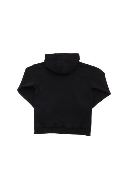 Moschino Kids - Double Question Mark sweatshirt in black