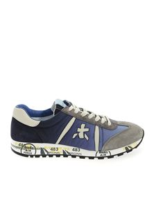 Premiata - Lucy sneakers in shades of blue and grey