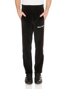 Palm Angels - Chenille pants in black