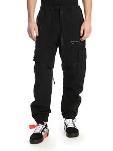 Off-White - Parachute Cargo pants in black