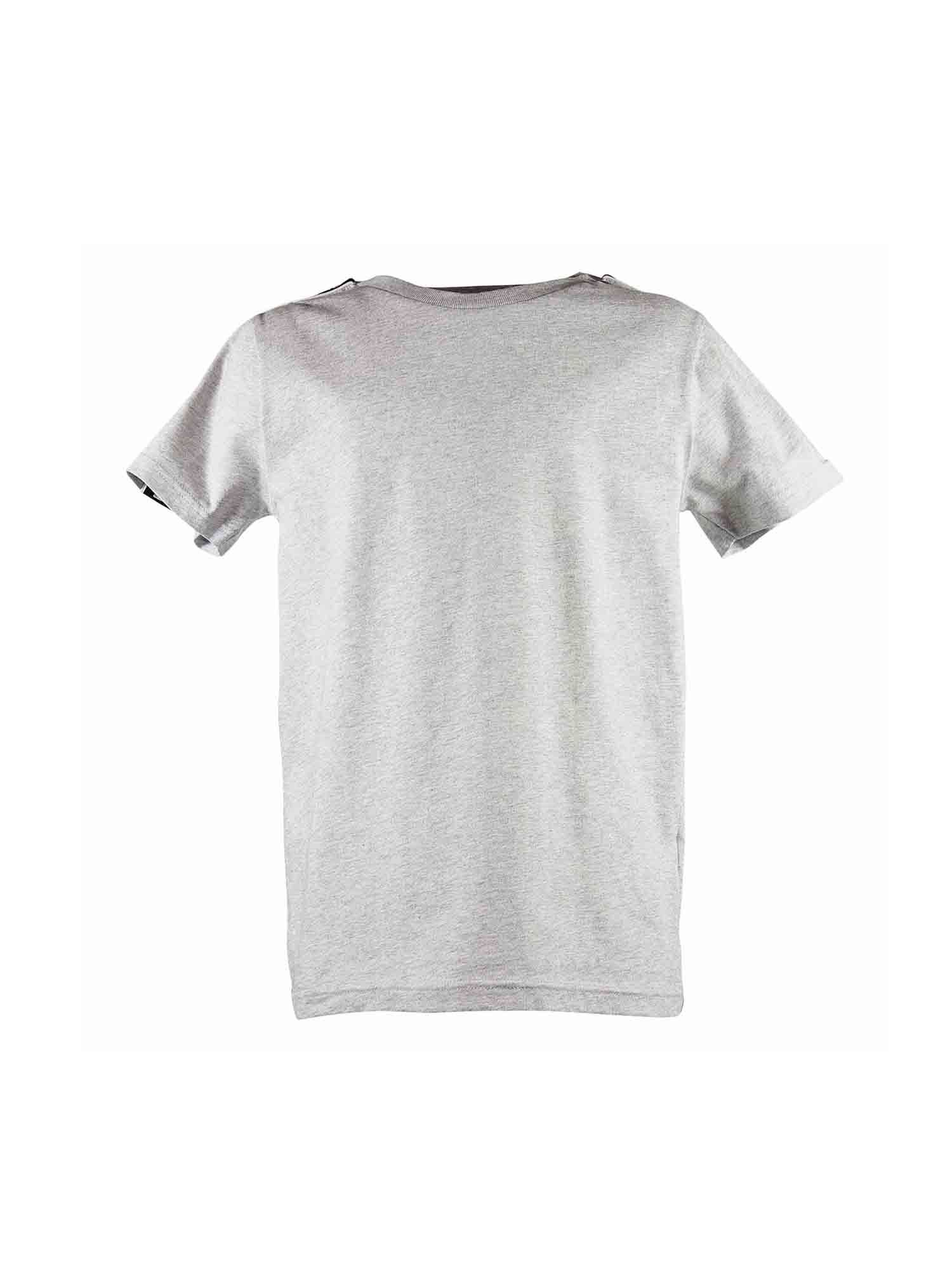 Givenchy Kids' Branded T-shirt In Melange Grey