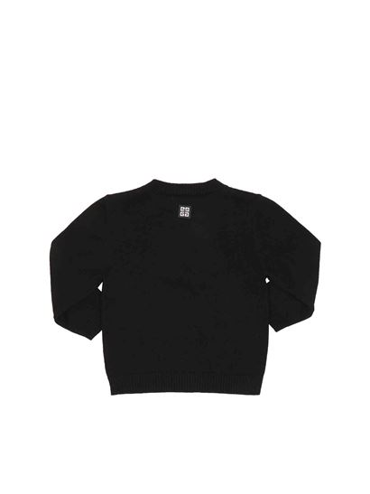 Givenchy - Branded pullover in black