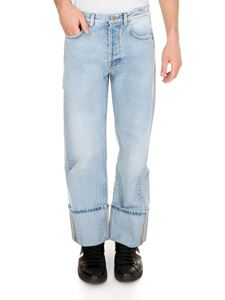 Valentino - VLogo jeans in light blue