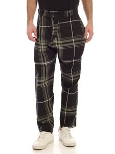 Vivienne Westwood Anglomania - Alcoholic checked pants in black and green
