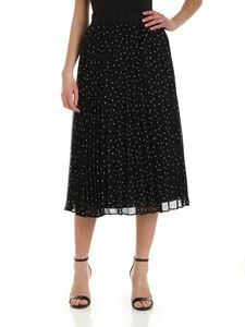 DKNY - Pleats skirt in black