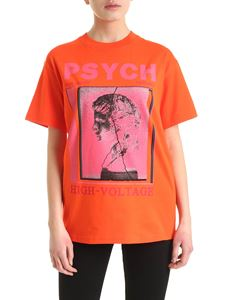 McQ Alexander Mcqueen - Emma T-shirt in orange