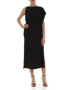 McQ Alexander Mcqueen - Haruko midi dress in black