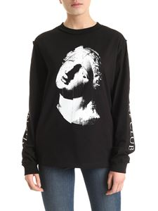 McQ Alexander Mcqueen - The Noise Club long sleeve T-shirt in black
