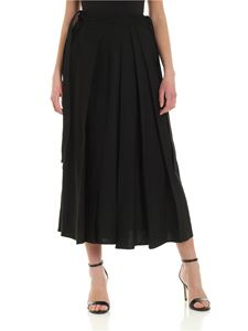 McQ Alexander Mcqueen - Hakana black pants with pleats