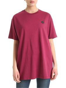 Vivienne Westwood Anglomania - New Boxy Arm & Cutlass T-shirt in cyclamen color