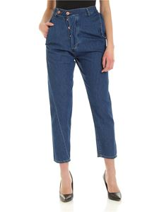 Vivienne Westwood Anglomania - Alcoholic jeans in blue