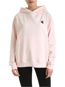 Vivienne Westwood Anglomania - Arm and Cutlass Orb logo sweatshirt in pink