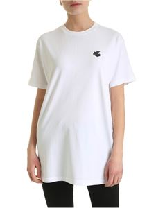 Vivienne Westwood Anglomania - New Boxy Arm & Cutlass T-shirt in white
