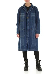 Vivienne Westwood Anglomania - Duster overcoat in blue