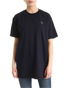 Vivienne Westwood Anglomania - New Boxy Arm & Cutlass T-shirt in blue