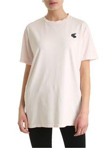 Vivienne Westwood Anglomania - New Boxy Arm & Cutlass T-shirt in pink