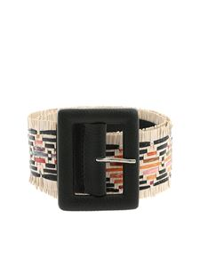 Orciani - Tahiti belt in black and ivory color