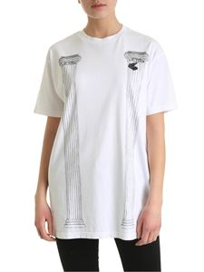 Vivienne Westwood Anglomania - New Boxy Pillar T-shirt in white