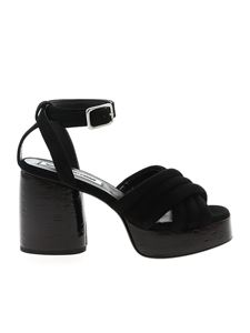 McQ Alexander Mcqueen - Rise sandals in black