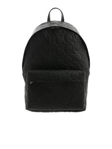 McQ Alexander Mcqueen - MCQ logo saffiano backpack in black