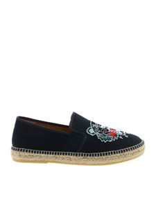 Kenzo - Tiger espadrilles in blue